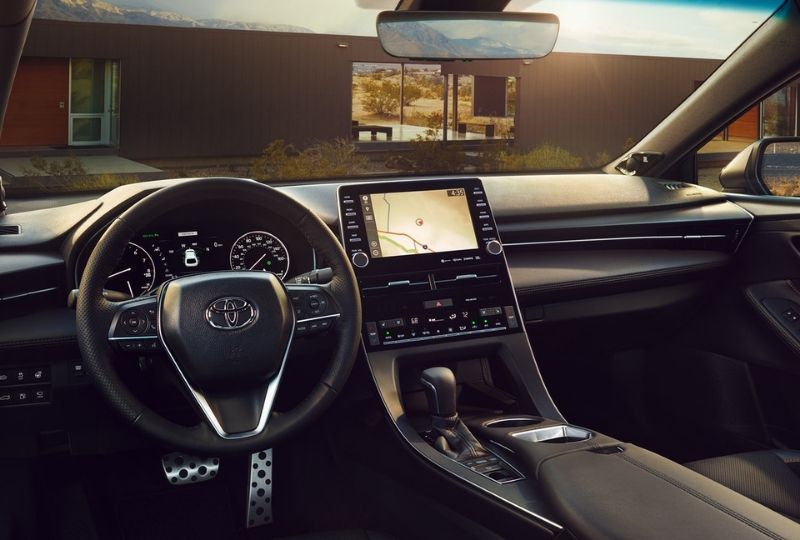 interior of a Toyota vehicle