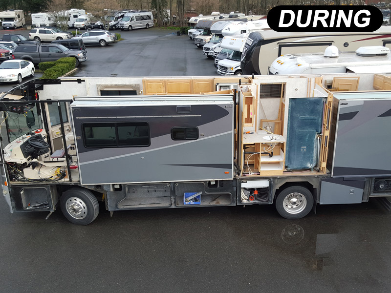 Rv Collision Repair Before And After Photos Repair Your