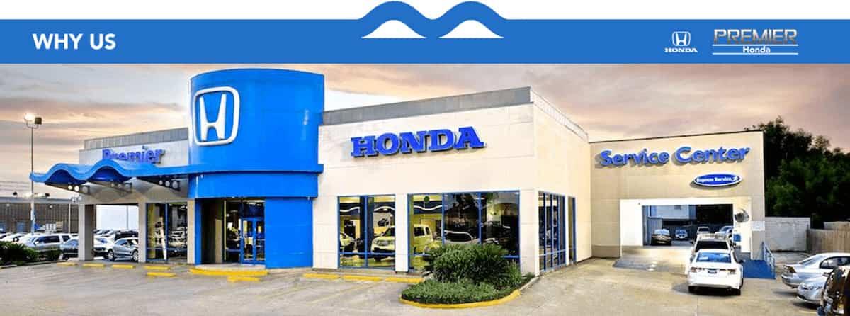 Premier Honda Is Your Automotive Dealership In New Orleans, LA