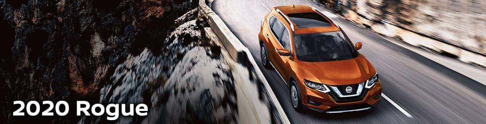 2020 Nissan Rogue Driving Cliffside