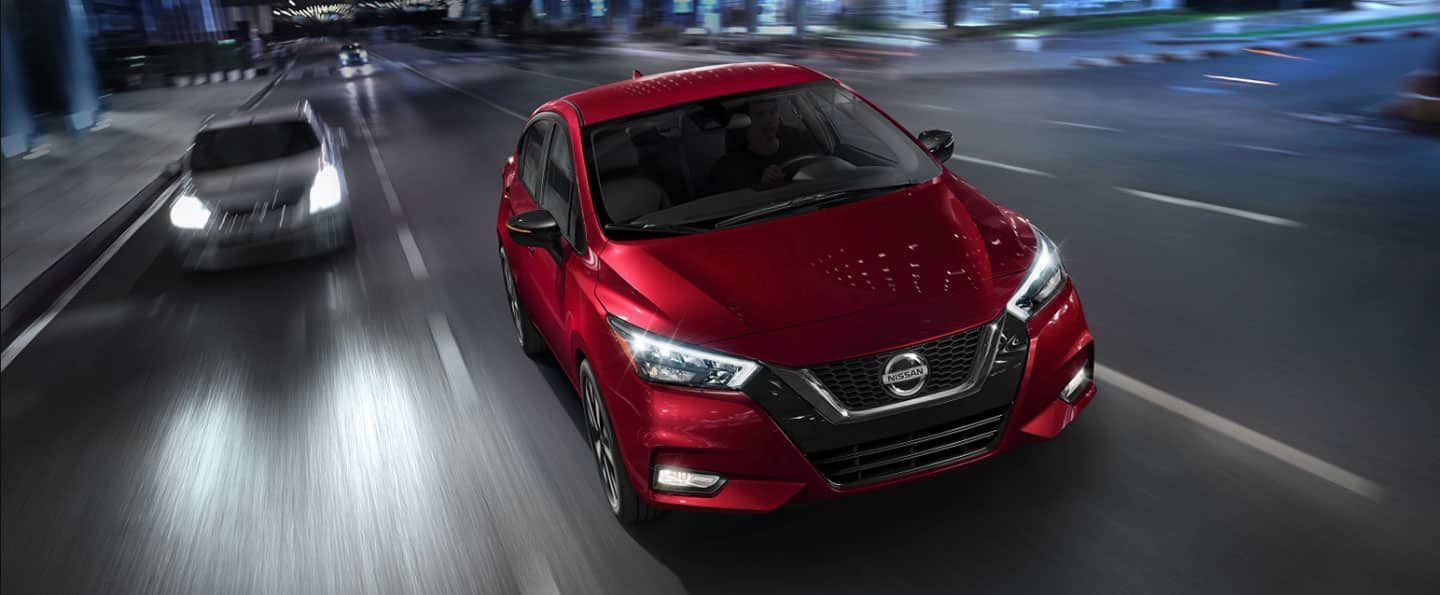Red 2020 Nissan Versa in Vero Beach, FL