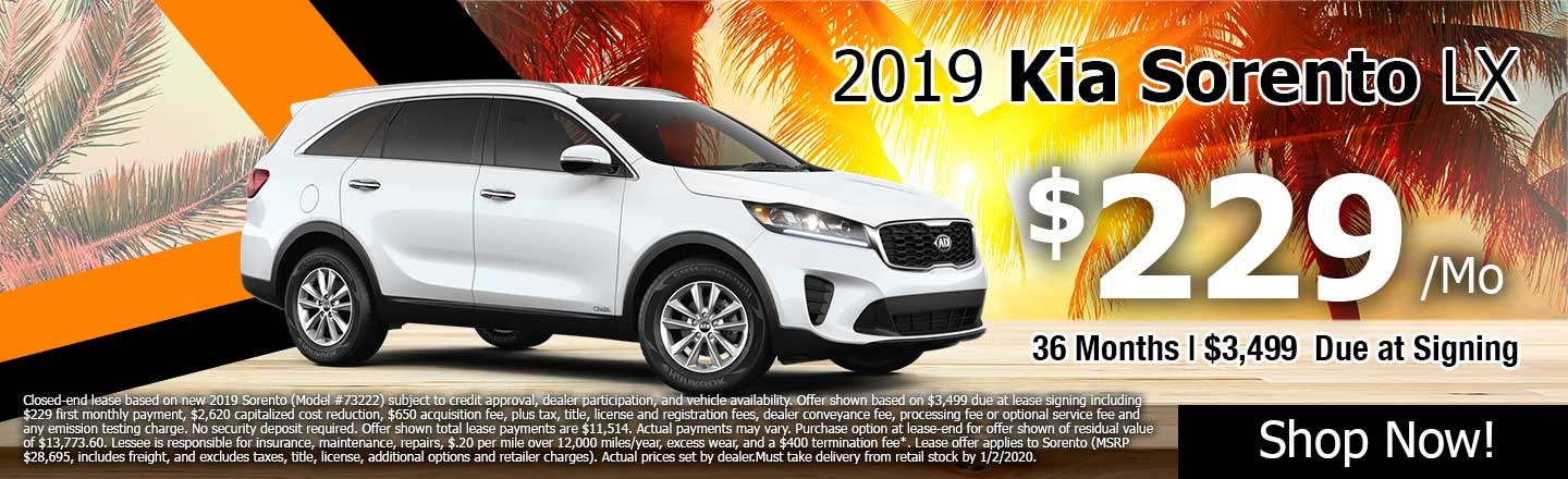 Kia Lease Specials >> Lease Specials Greenway Kia West Palm Beach