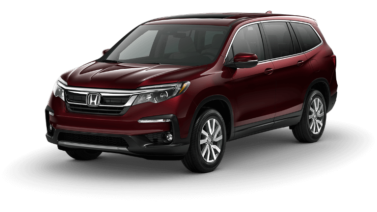 2019 Honda Pilot EX-L in purple