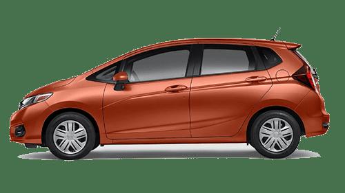 Orange 2019 Honda Fit Jellybean
