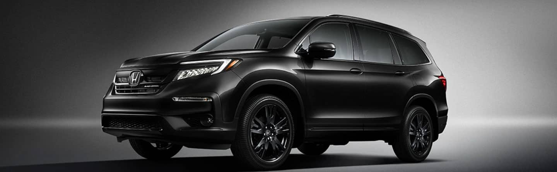 Black 2020 Honda Pilot