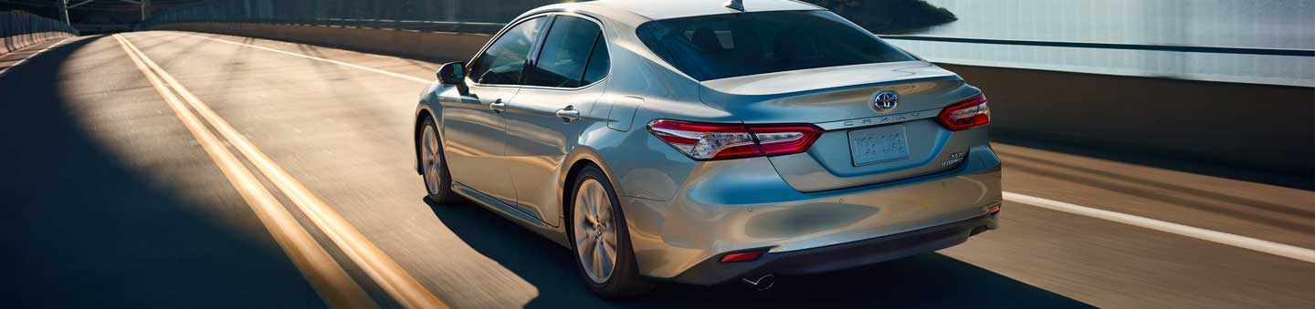 Explore The New Toyota Camry Hybrid At Walker Jones Toyota In Waycross
