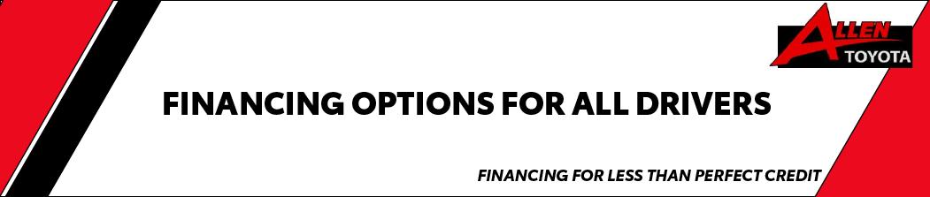 Bad Credit Auto Financing in Gulfport, MS - Allen Toyota