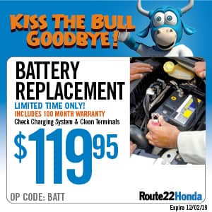 Battery Replacement - $119.95
