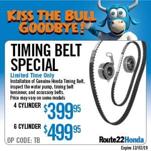 Timing Belt Special - $399.95