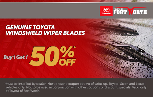 Genuine Toyota Windshield Wiper Blades