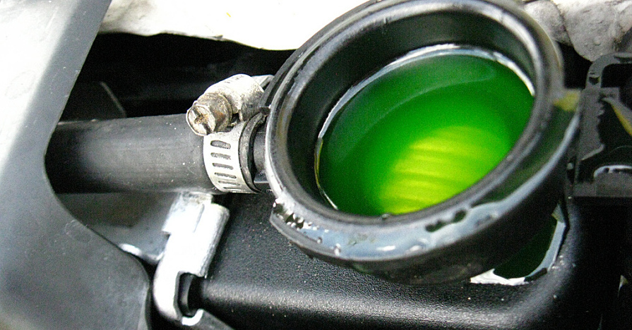 $15 OFF Coolant Service Special