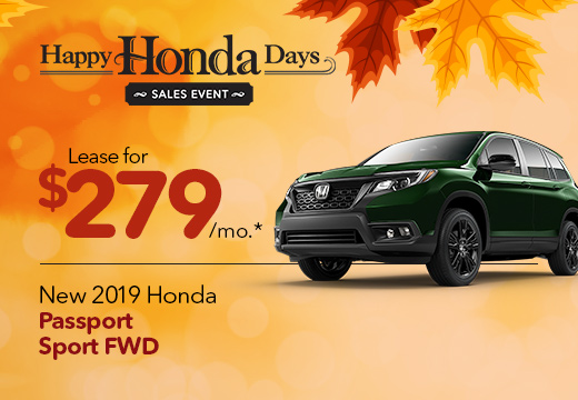 2019 Honda Passport Vero Beach FL