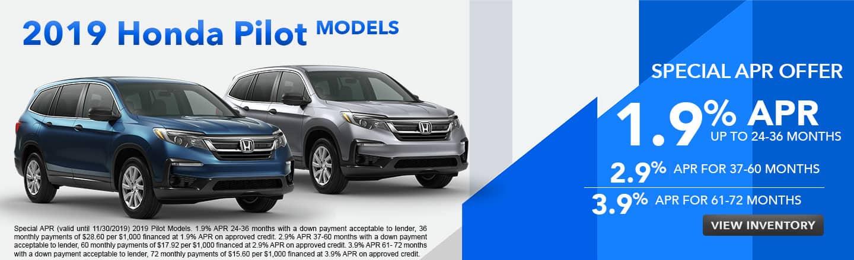 2019 Honda Pilot Models