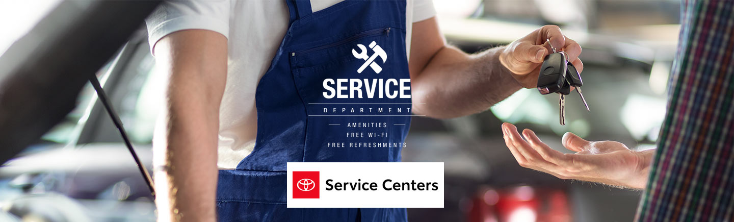 Carl Hogan Toyota's Service Department Has You Covered