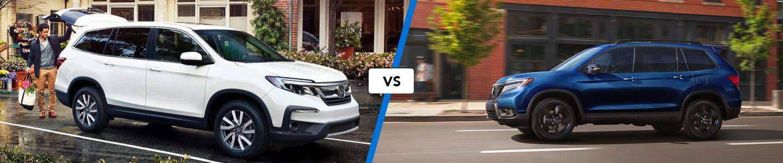 See How the 2020 Honda Pilot & 2019 Honda Passport SUVs Compare