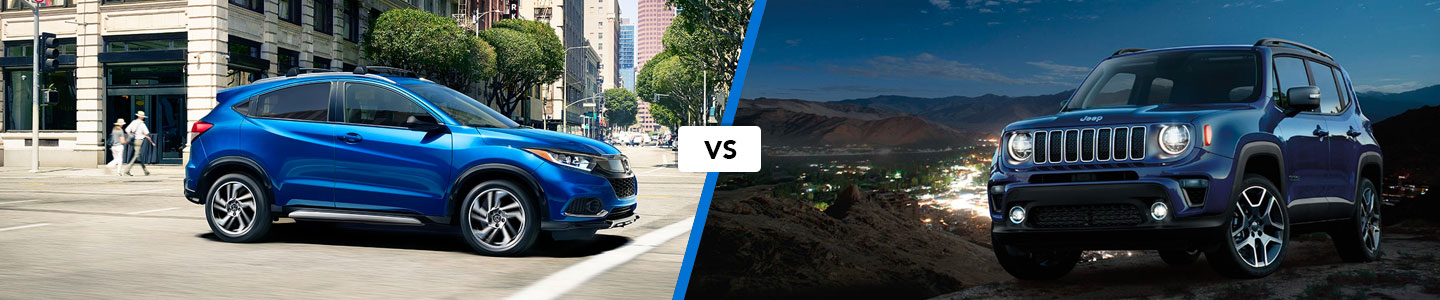 Crossover Comparison: 2019 Honda HR-V Versus 2019 Jeep Renegade