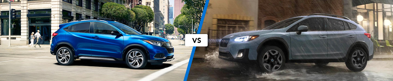 Crossover Comparison: 2019 Honda HR-V Vs. 2019 Subaru Crosstrek