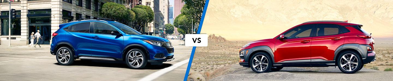 Crossover Comparison: 2019 Honda HR-V Vs. 2019 Hyundai Kona