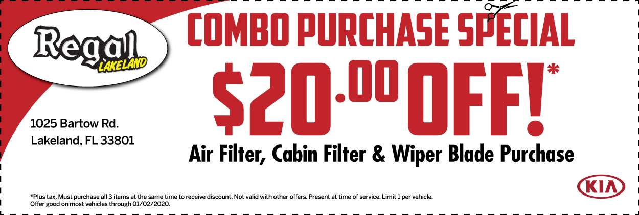 Combo Purchase Special