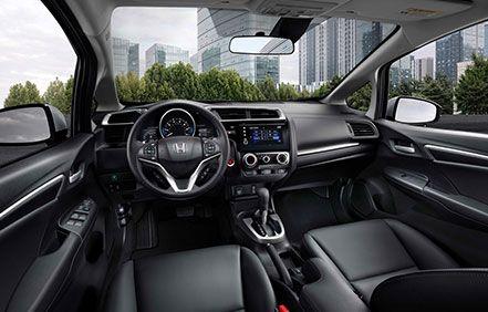 2019 Honda Fit Interior Available at Manly Honda in Santa Rosa