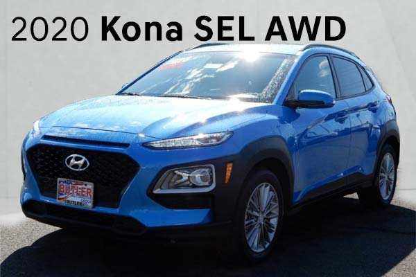 2020 Kona SEL AWD Featured Lease