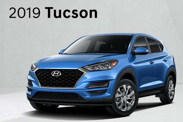 Save on 2019 Tucson