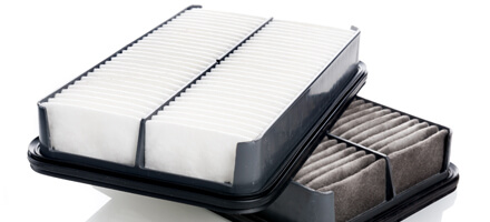 Engine and Cabin Air Filter Package