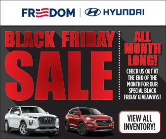Freedom Hyundai Black Friday Sale