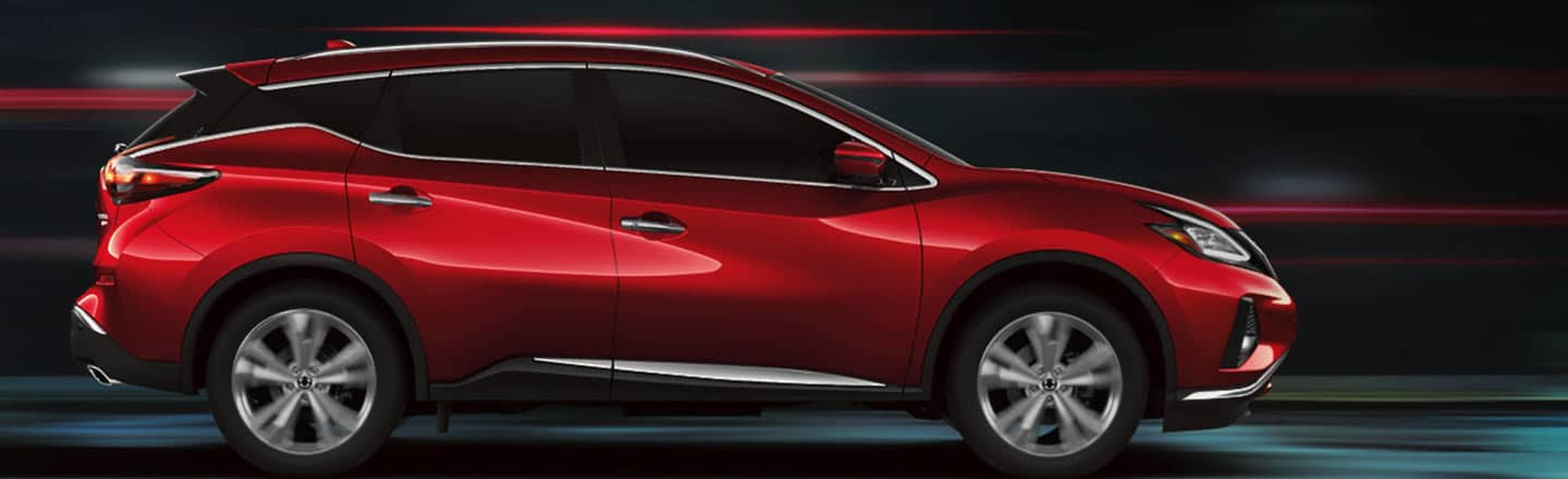 The 2020 Nissan Murano in Red