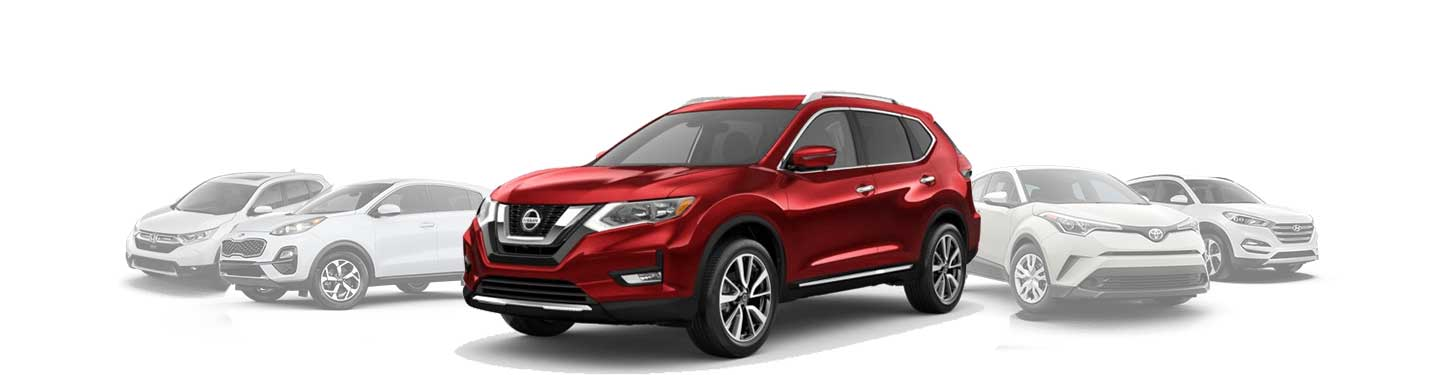 Comparing the New Nissan Rogue to the Competition Around Clermont, FL