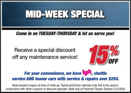 Mid-Week Special