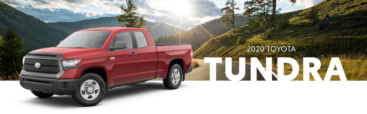 red 2020 toyota tundra