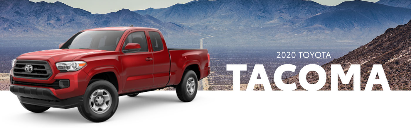 red 2020 toyota tacoma