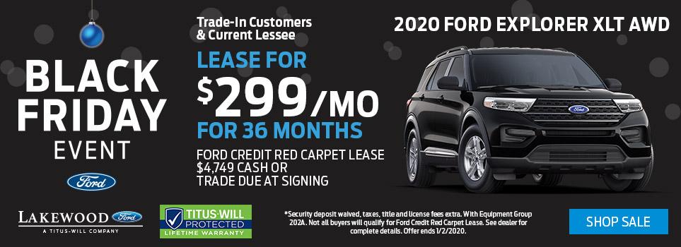 Black Friday Ford Explorer Deals | Tacoma, WA