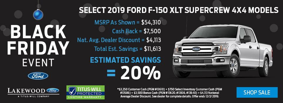 Black Friday Ford F-150 Deals | Tacoma, WA