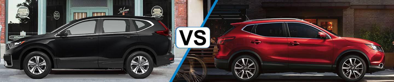 2019 Honda CR-V compares with the Rogue