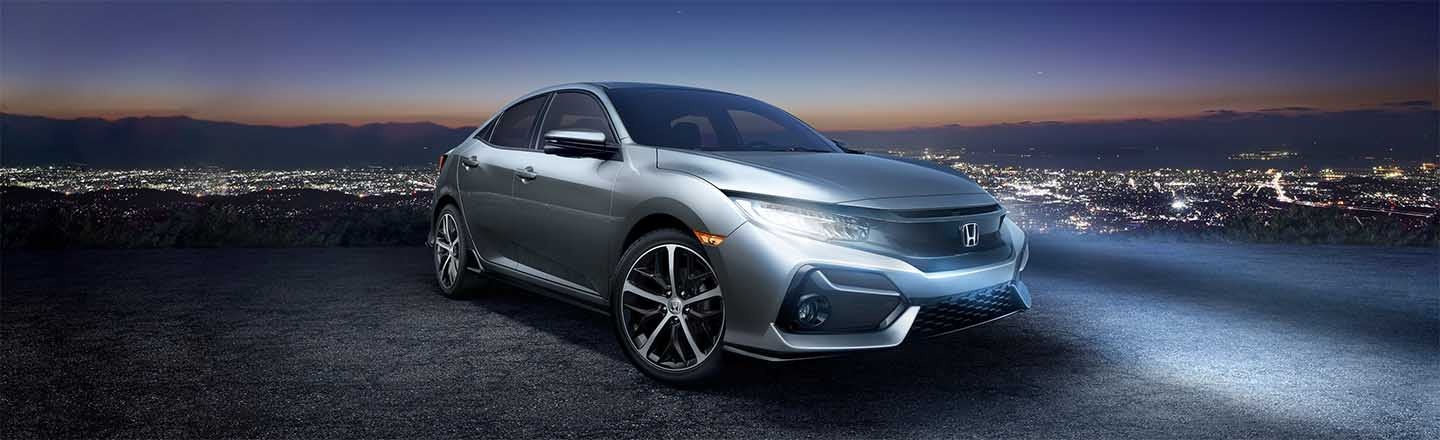 The 2020 Honda Civic Hatchback Sport is available at our Honda dealership in Fort Myers, FL.