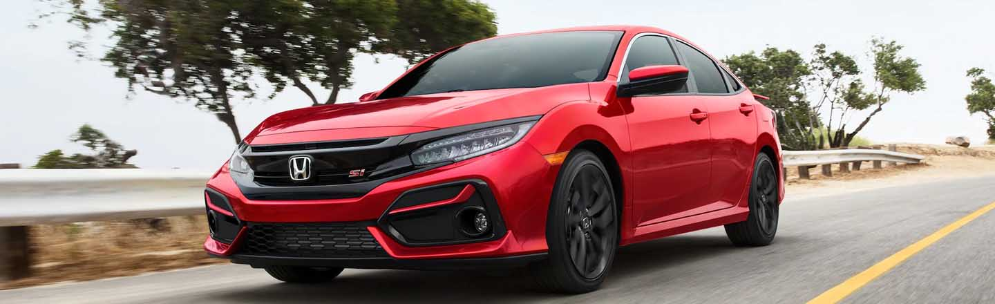 The 2020 Honda Civic Si Sedan Sport is available at our Honda dealership in Fort Myers, FL.