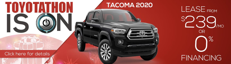 2020 Tacoma Offers
