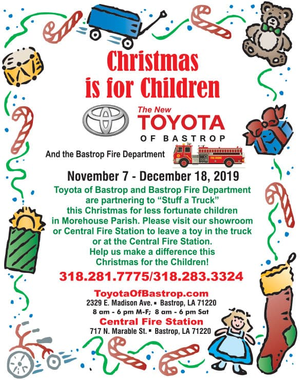 Christmas is for Children Toy Drive at Toyota of Bastrop