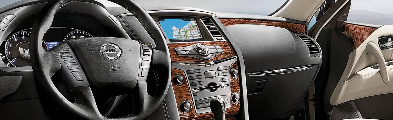 2020 Nissan Armada Interior