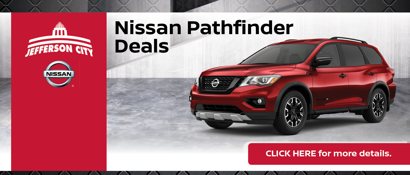 2020 Nissan Pathfinder Specials