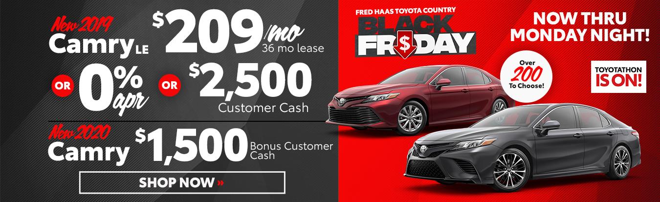 Best Toyota Toyota Black Friday Deals