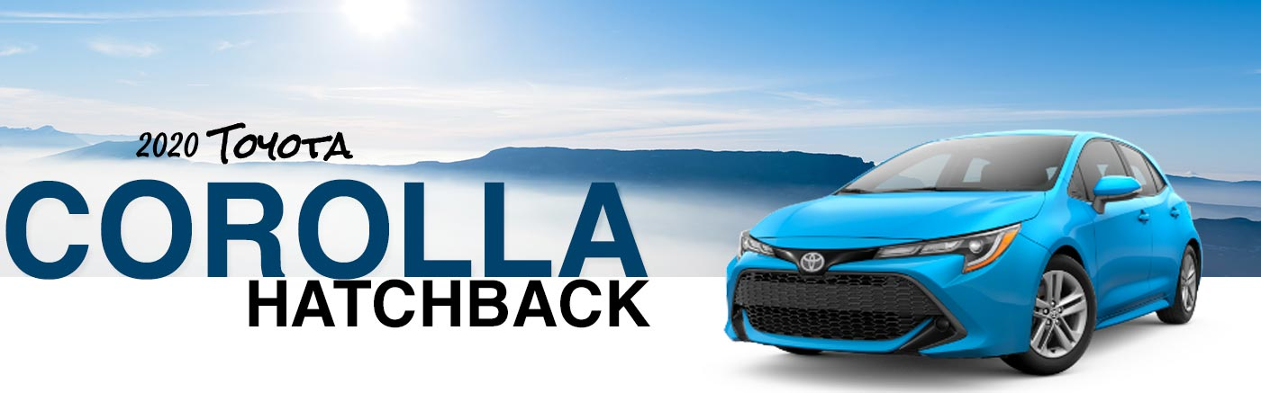 Upgrade To A 2020 Corolla Hatchback At Our Granbury, TX, Toyota Dealer
