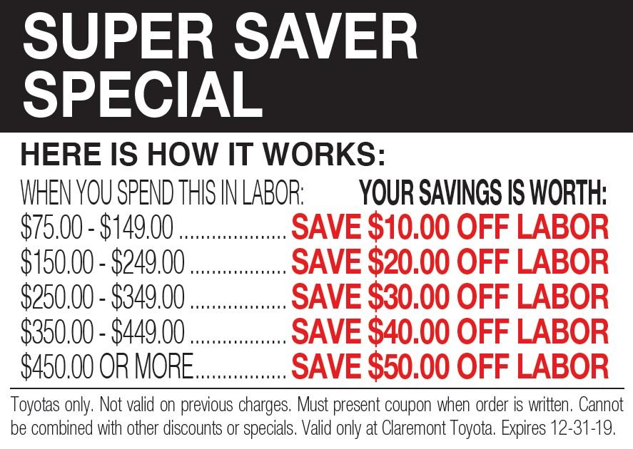 Super Saver Special