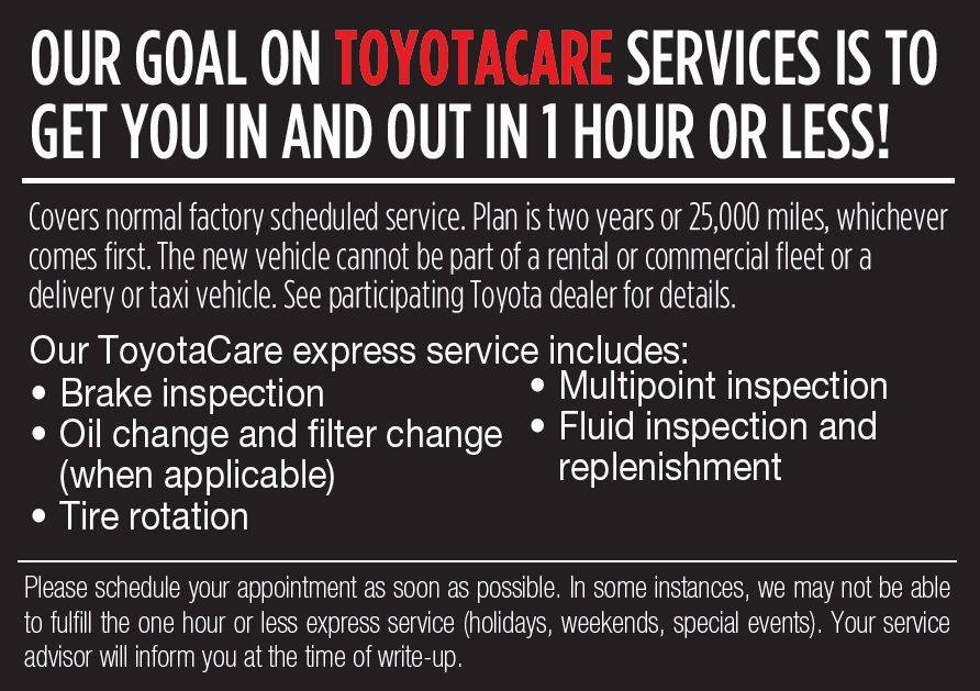 ToyotaCare Service