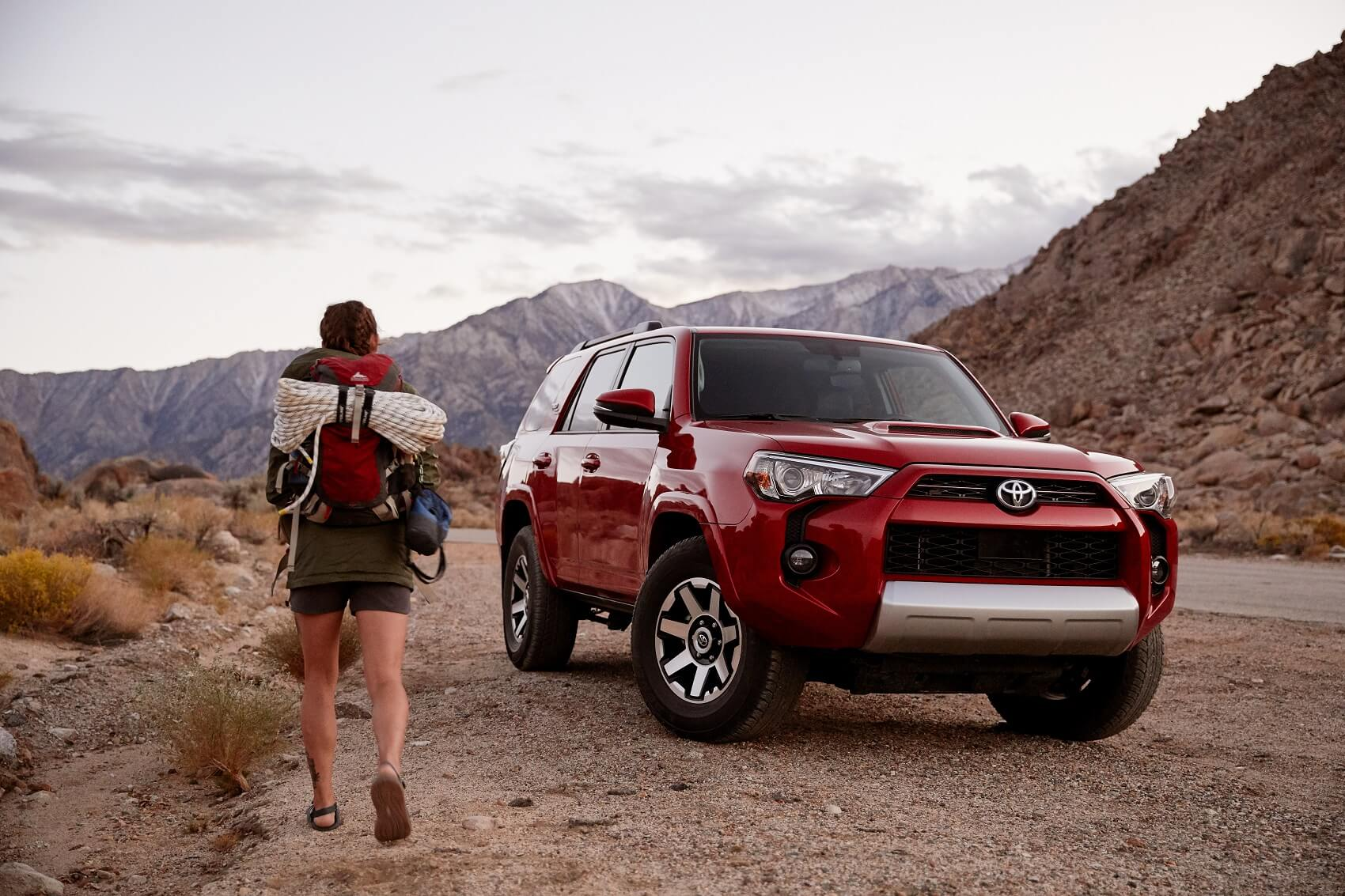 Toyota 4Runner Red