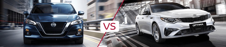 Vann York's Nissan 2020 Nissan Altima Vs Kia Optima