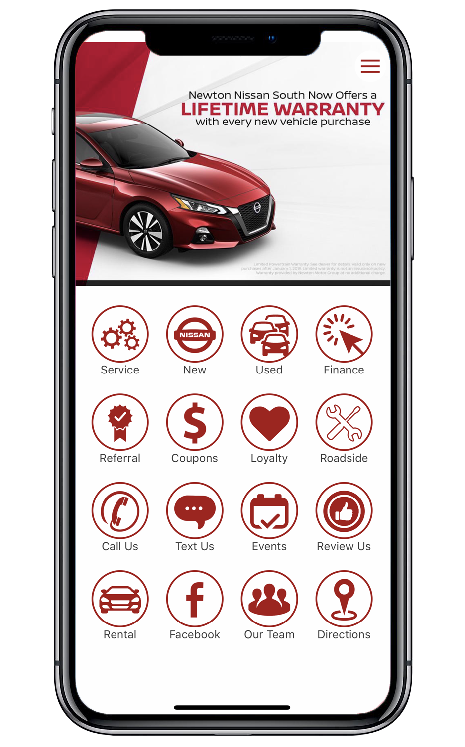 Newton Nissan South App
