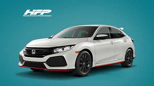 The HFP Civic Hatchback package